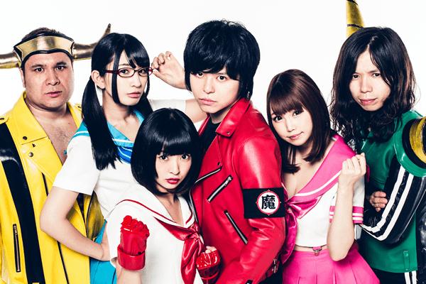 AOMORI ROCK FESのホストユニット「夏の魔物」がファーストアルバム『夏の魔物』をリリース