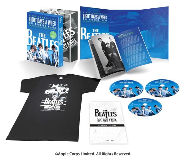 ザ・ビートルズ EIGHT DAYS A WEEK -The Touring Years Blu-ray コレクターズ・エディション