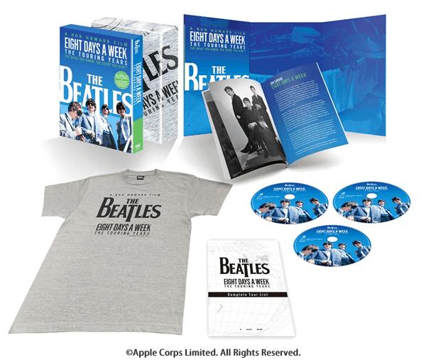 ザ・ビートルズ EIGHT DAYS A WEEK -The Touring Years DVD コレクターズ・エディション