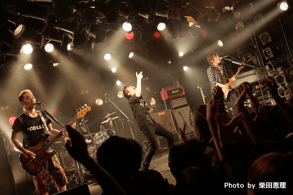 「GLORY ROAD TO BUDOKAN COUNTDOWN LIVE」ザ・コレクターズ&怒髪天