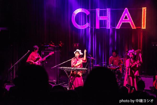 CHAIの渋谷WWWワンマンライブをレポート