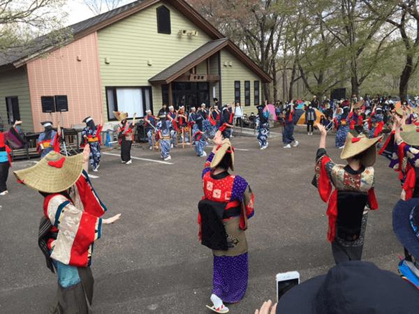 ARABAKI ROCK FEST.17 西馬音内盆踊り