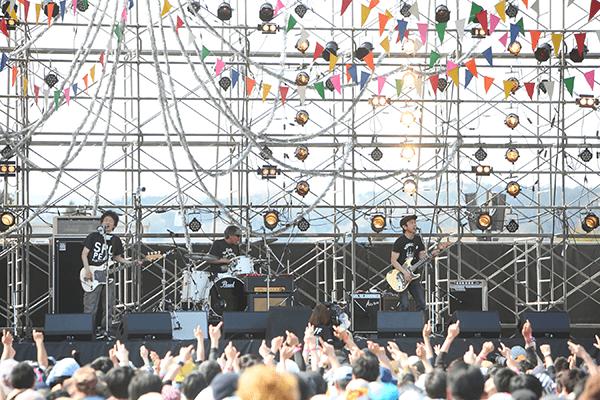 ARABAKI ROCK FEST.17 Theピーズ