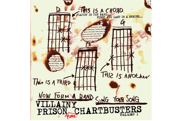 VILLAINY PRISON PUNK CHARTBUSTERS