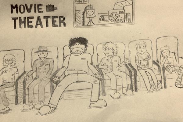 がらくたロボット ヤマモトダイジロウの「1983」第四話「大男と映画館」