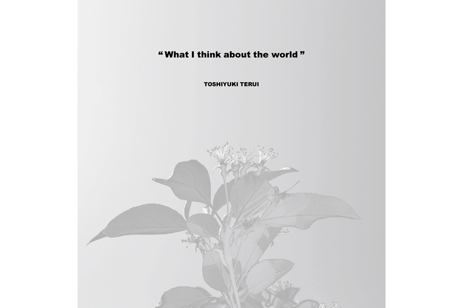 vinyl 12inch『What I think about the world』