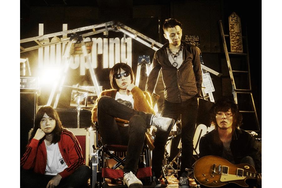 hotspring、1/6開催の自主企画出演バンドを紹介&ニューシングルを同日発売
