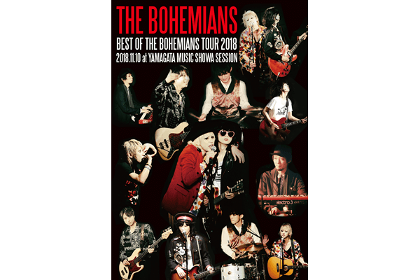 THE BOHEMIANS LIVE DVD