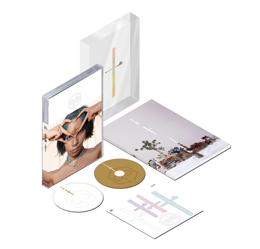 女王蜂 album『十』初回生産限定盤