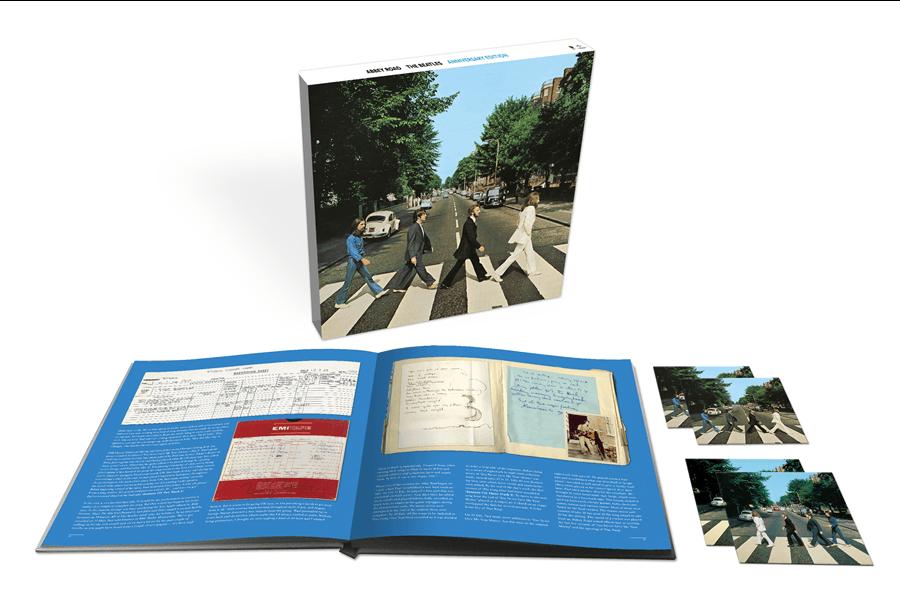 アビイ・ロード (50周年記念スーパー・デラックス・エディション) [3CD + 1ブルーレイ(オーディオ)収録、豪華本付ボックス・セット][輸入国内盤仕様/完全生産盤]