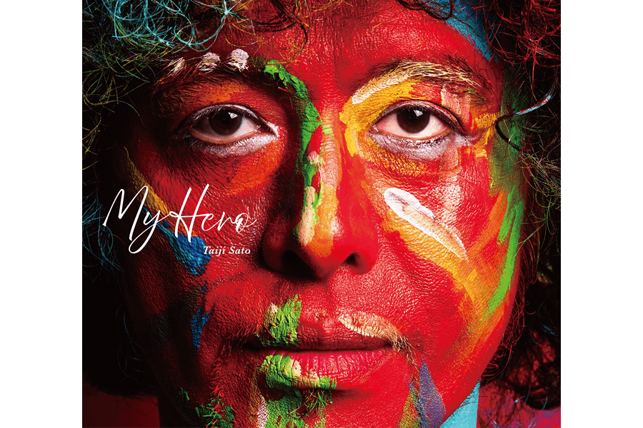佐藤タイジ 2nd solo album『My Hero』