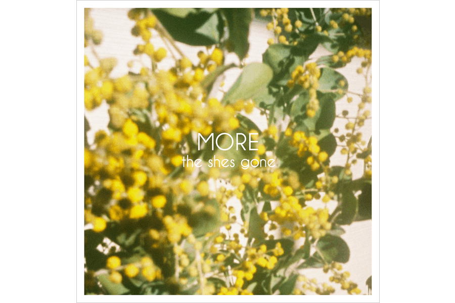 the shes gone 2nd mini album『MORE』