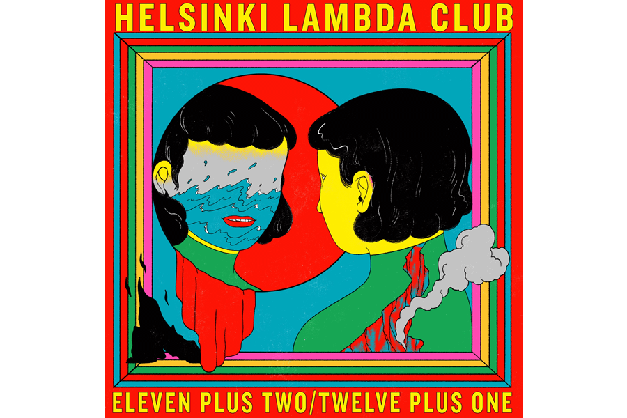 Helsinki Lambda Club 2nd full album『Eleven plus two / Twelve plus one』